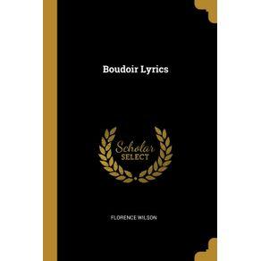 Boudoir-Lyrics