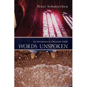 Words-Unspoken
