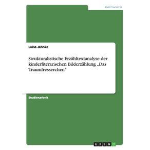 """Strukturalistische-Erzahltextanalyse-der-kinderliterarischen-Bilderzahlung--""""Das-Traumfresserchen"""