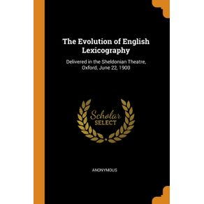 The-Evolution-of-English-Lexicography