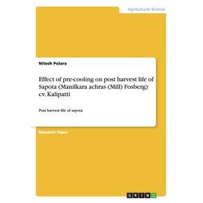 Effect-of-pre-cooling-on-post-harvest-life-of-Sapota--Manilkara-achras--Mill--Fosberg--cv.-Kalipatti