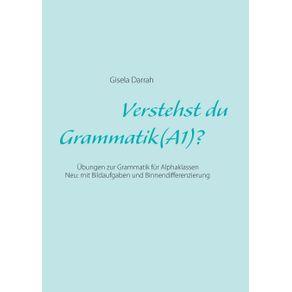 Verstehst-du-Grammatik---A1-