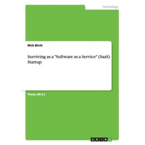 Surviving-as-a-Software-as-a-Service--SaaS--Startup