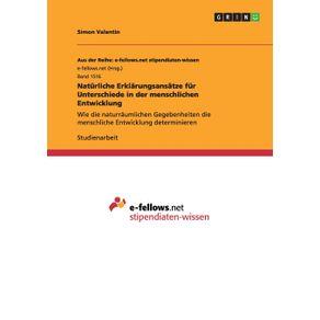Naturliche-Erklarungsansatze-fur-Unterschiede-in-der-menschlichen-Entwicklung