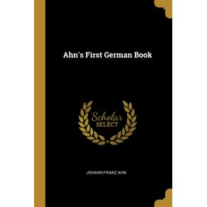 Ahns-First-German-Book