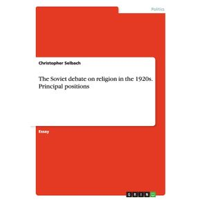 The-Soviet-debate-on-religion-in-the-1920s.-Principal-positions