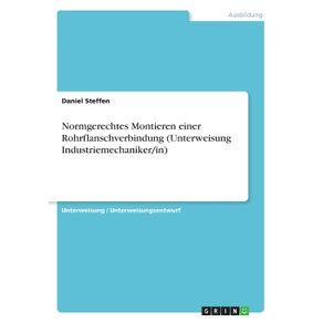 Normgerechtes-Montieren-einer-Rohrflanschverbindung--Unterweisung-Industriemechaniker-in-