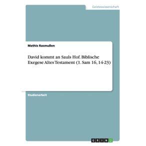 David-kommt-an-Sauls-Hof.-Biblische-Exegese-Altes-Testament--1.-Sam-16-14-23-