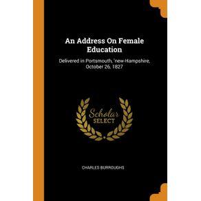 An-Address-On-Female-Education