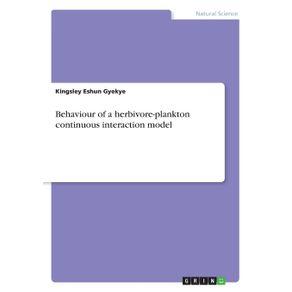 Behaviour-of-a-herbivore-plankton-continuous-interaction-model