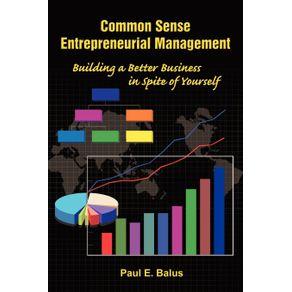 Common-Sense-Entrepreneurial-Management