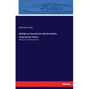 Beitrage-zur-Kenntnis-der-altesten-Epoche-neupersischer-Poesie