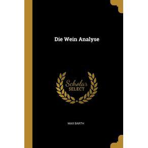 Die-Wein-Analyse