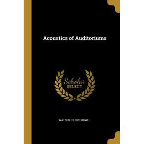 Acoustics-of-Auditoriums