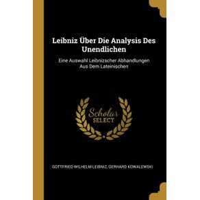 Leibniz-Uber-Die-Analysis-Des-Unendlichen