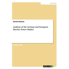 Analysis-of-the-German-and-European-Electric-Power-Market