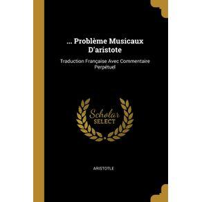 ...-Probleme-Musicaux-Daristote