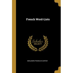 French-Word-Lists