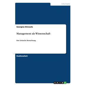 Management-als-Wissenschaft