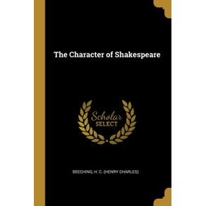 The-Character-of-Shakespeare