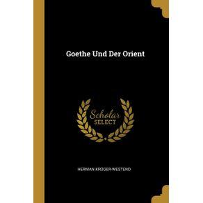 Goethe-Und-Der-Orient