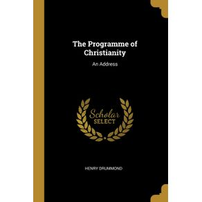The-Programme-of-Christianity