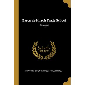 Baron-de-Hirsch-Trade-School