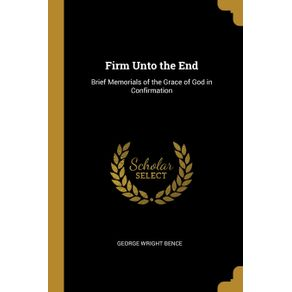 Firm-Unto-the-End