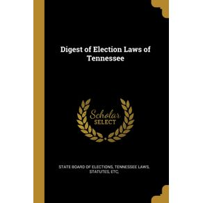 Digest-of-Election-Laws-of-Tennessee