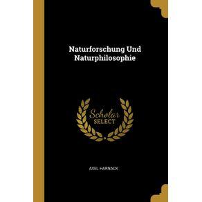 Naturforschung-Und-Naturphilosophie