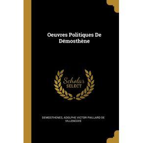 Oeuvres-Politiques-De-Demosthene