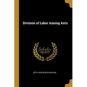 Division-of-Labor-Among-Ants