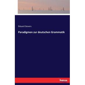 Paradigmen-zur-deutschen-Grammatik
