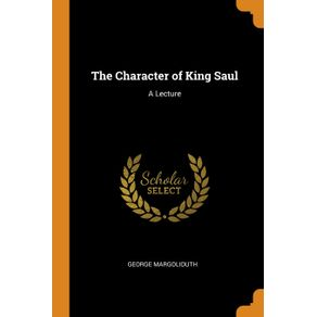 The-Character-of-King-Saul