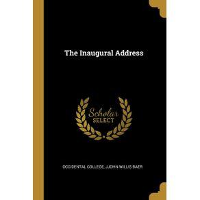 The-Inaugural-Address