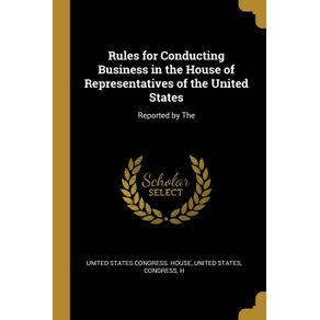 Rules-for-Conducting-Business-in-the-House-of-Representatives-of-the-United-States