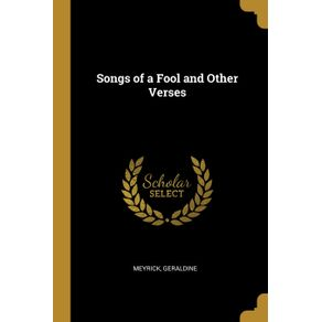 Songs-of-a-Fool-and-Other-Verses
