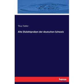 Alte-Dialektproben-der-deutschen-Schweiz