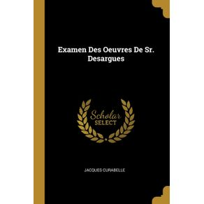 Examen-Des-Oeuvres-De-Sr.-Desargues