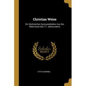 Christian-Weise
