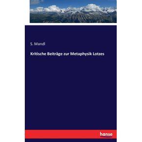 Kritische-Beitrage-zur-Metaphysik-Lotzes
