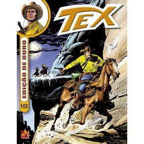 Tex-Ouro-formato-italiano-vol.-103--O-trem-da-salvacao