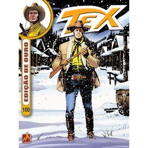 Tex-Ouro-formato-italiano-vol.-100--Intriga-no-Klondike---Onde-mora-o-medo
