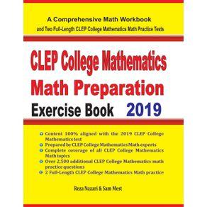 CLEP-College-Mathematics-Math-Preparation-Exercise-Book