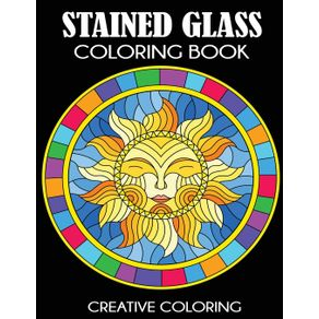 Stained-Glass-Coloring-Book