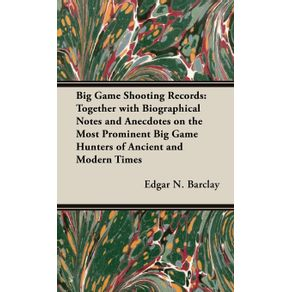 Big-Game-Shooting-Records