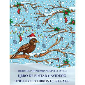 Libros-de-pintar-para-aliviar-el-estres--Libro-de-pintar-navideno-