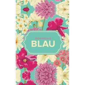 Adressbuch-Blau
