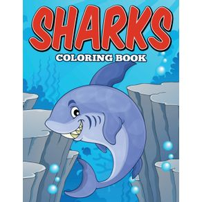 Sharks-Coloring-Book