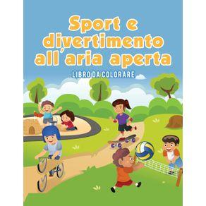 Sport-und-Outdoor-Spa--Malbuch